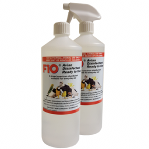F10 Avian Disinfectant, Ready to Use 1 litre - from £10.99